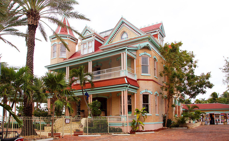 The southernmost home in the continental USA: Casa Cayo Hueso