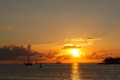 Sunset At Sunset Pier