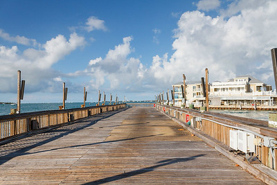 Sunset Pier, Post Hurricane