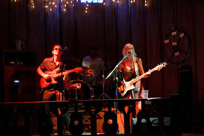 On Stage At The Bull