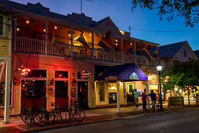 Evening on Duval Street