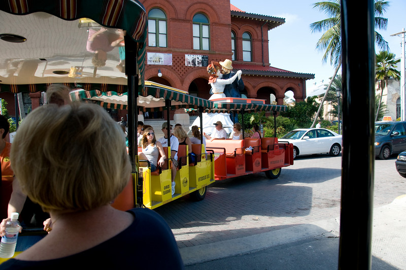 "Conch Train Tour - <a href=""http://www.conchtourtrain.com"">http://www.conchtourtrain.com</a>"