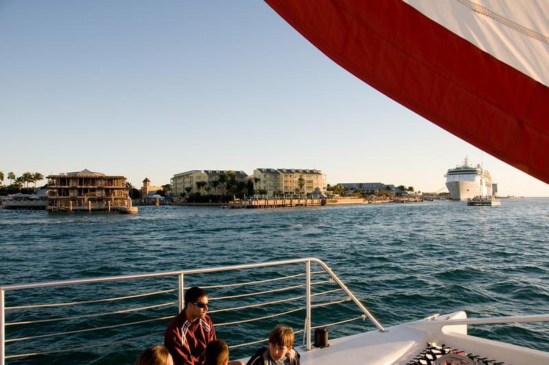 Carribean Spirit Catamaran - 78ft long - Sunset Cruise