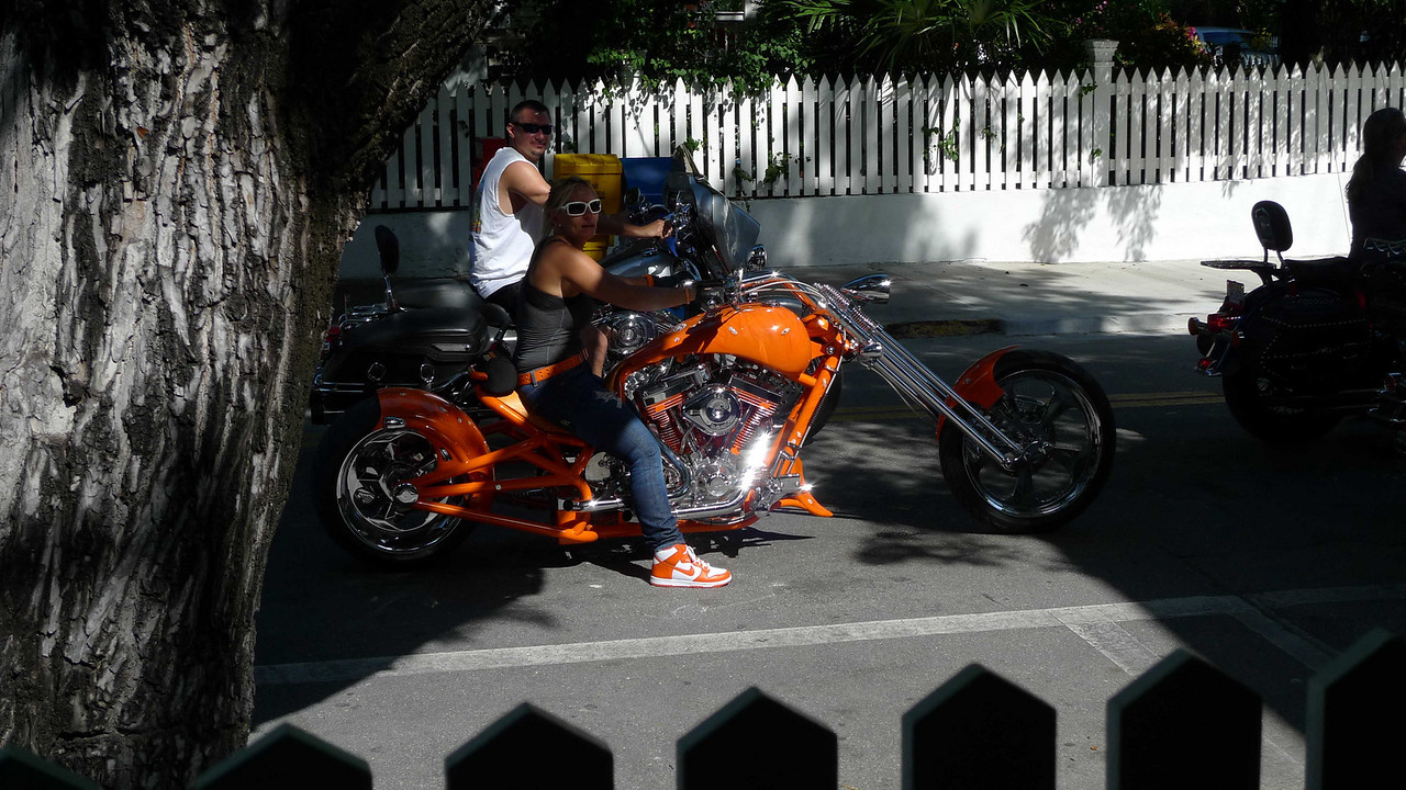 There were some serious motorcycles while we were there. This is from brunch at Sarabeth's.