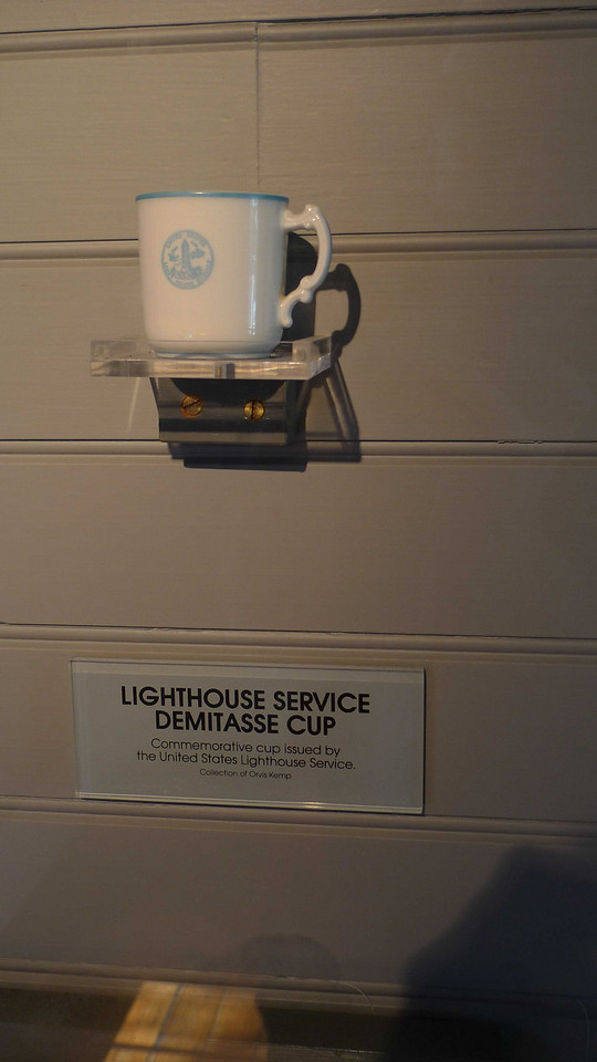 The lighthouse families had tea and coffee services provided by the lighthouse service.