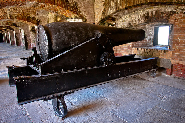 Cannon at Fort Zachary Taylor.  More photos at www.mattpilsner.com/travel/keywest/fortzacharytaylor