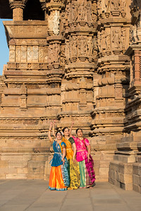 Sarika Prabhu Haris, Mukta Sathe, and Rita Mustaphi.  Rita Mitra Mustaphi, Katha Dance Theater, USA. While adept in the classical Kathak vocabulary it is infused with contemporary sensibility acquired from interest in expression, rhythm works and movement idioms. Khajuraho Dance Festival, Feb 2017. Colorful and brilliant classical dance forms of India with roots in the rich cultural traditions offer a feast for the eyes during a weeklong extravaganza. Khajuraho Temples in Madhya Pradesh are popular for their architectural wonders and sculptures.
