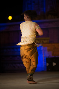 Anuj Mishra, Kathak dancer. belongs to the famous traditional family of musicians, gharana of Varanasi.   Khajuraho Dance Festival 20th Feb'17. Colorful and brilliant classical dance forms of India with roots in the rich cultural traditions offer a feast for the eyes during a weeklong extravaganza. Khajuraho Temples in Madhya Pradesh are popular for their architectural wonders and sculptures.  Anuj is the thirteenth generation of artists in his traditional musical family. His forefather Late Shri Shiv Kishore Mishra was renowned Sarangi player. His grandfather Late Shri Nanhu Mishra was a famous tabla maestro and his father Pt. Arjun Mishra is very famous and renowned kathak guru, dancer and choreographer learned under Late shri Ramnarayan Mishra in Kolkata and then by great legend Padamvibhushan Pt. Birju maharaj.