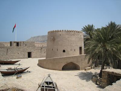 Taken from the battlements