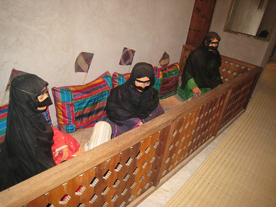 Model of ladies doing hand weaving - so lifelike I got a bit of a surprise when I came round the corner and saw them.