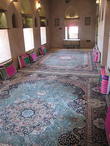 Majlis in Khasab Castle