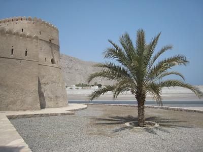 Outside Khasab Castle