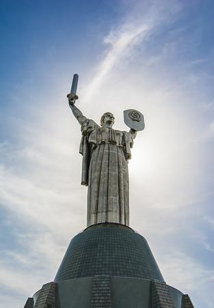 Rodina Mat (Motherland), Kiev