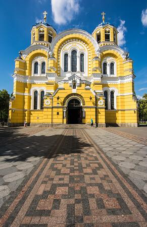 St Volodymyr's Cathedral, Kiev