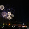 Fireworks to celebrate the opening of the new stadium. From what I heard they went on for so long that the roof of the stadium was singed.
