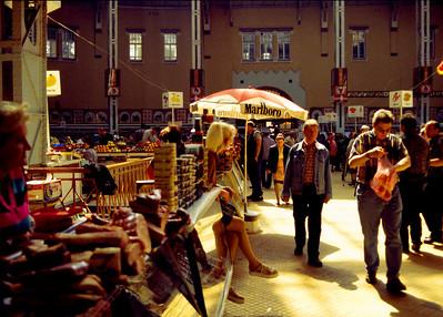 The indoor market - rynok