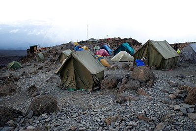 Day 6. Barafu camp (4673m). Lemosho route.
