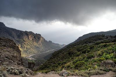 Day 4. Baranco camp (3976m). Lemosho route.