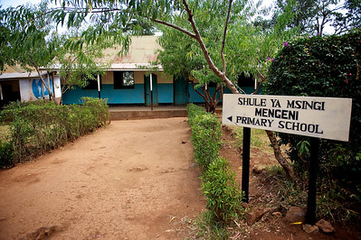 Primary school. Marangu village, Moshi district, Tanzania.