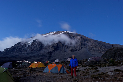 Day 5. Karanga camp (3995m). Lemosho route.