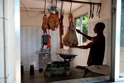 Butcher, Moshi, Tanzania.
