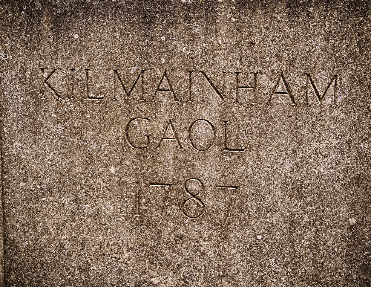 Kilmainham Gaol in Dublin; the site of incarcerations, executions, and many of the most brutal moments in the history of Ireland.