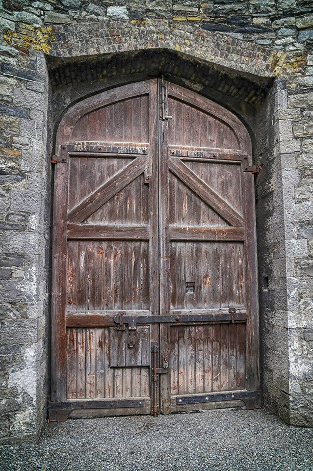 Doorway from the Prison Yard.