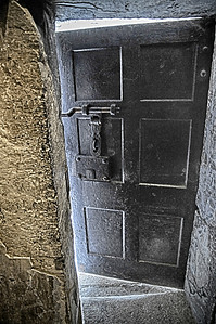 Door to the Prison Yard, where executions were performed