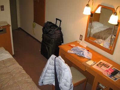 My huge hotel room