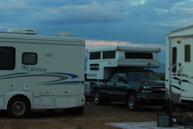 I wandered around the camping area for other TCs, there were a handful, but we were clearly in the minority of RVs.