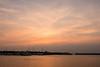 Sky after sunrise over Kingston Harbour.