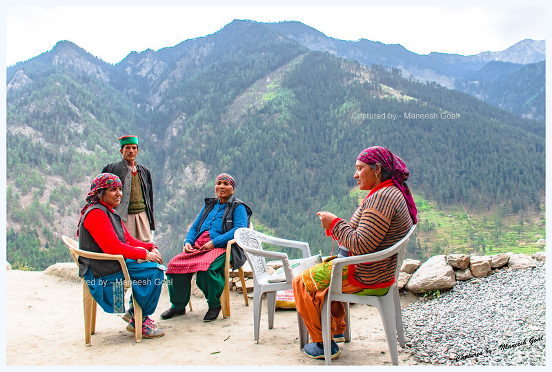 Friendly, ever smiling Himachalis