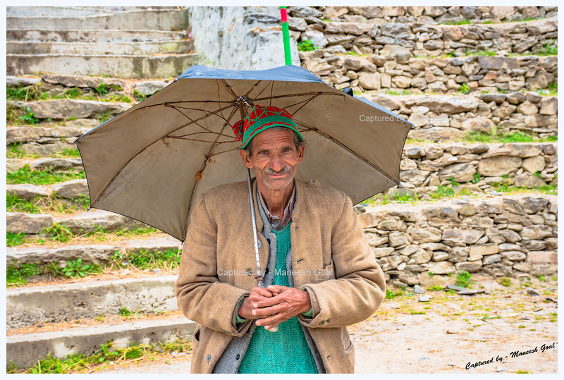 Friendly local man. Pedcha village.