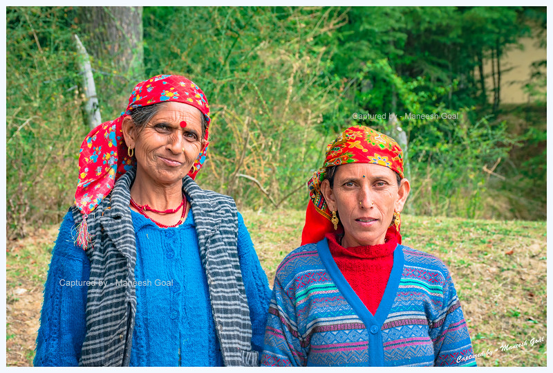 Ever smiling, friendly people of Himachal. Bahu.