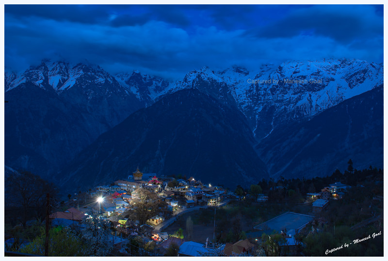 Kalpa at the blue-hour.