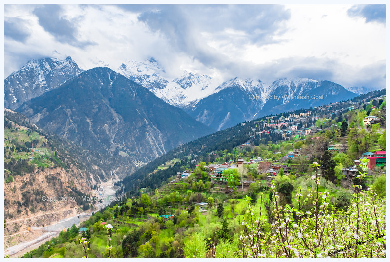 Reckong Peo - administrative headquarter of Kinnaur