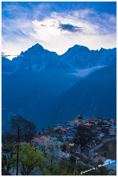Another day. Waiting for another sunrise. Kalpa.