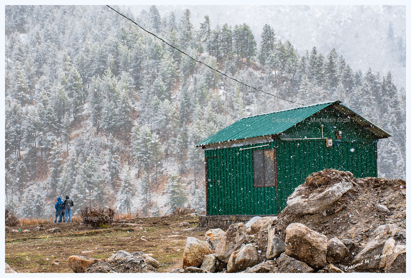 Snowfall at Chitkul
