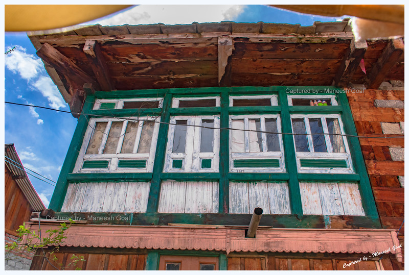 Traditional Himachali house, Batseri.