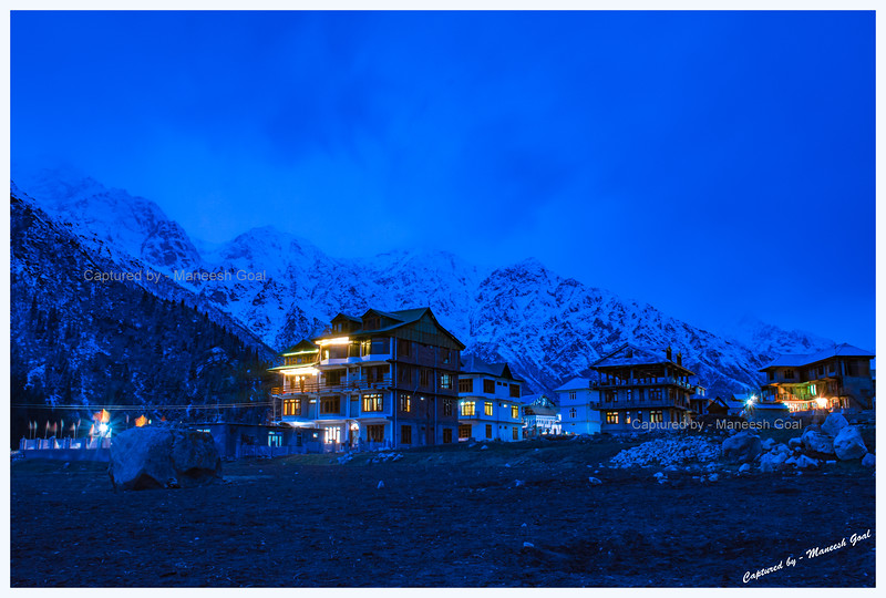 Chitkul at the blue-hour.