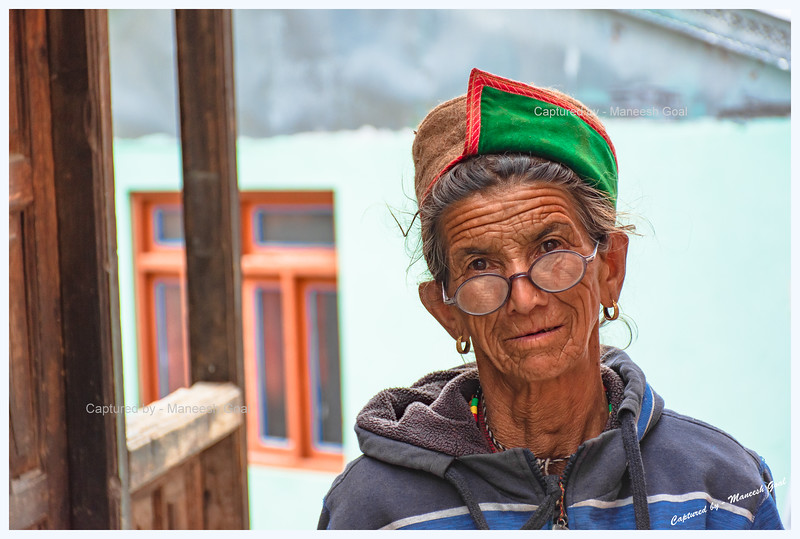 Resident of Kamru village whom we encountered while descending from Kamru