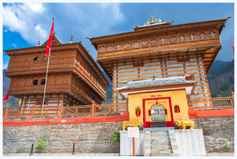 The magnificent Shri Bhima Kali Temple, Sarahan.