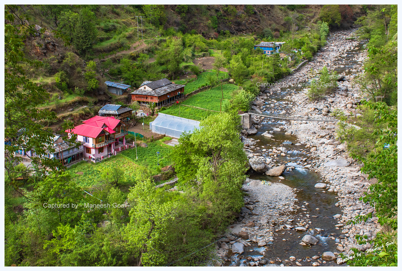 Charming Sainj Valley