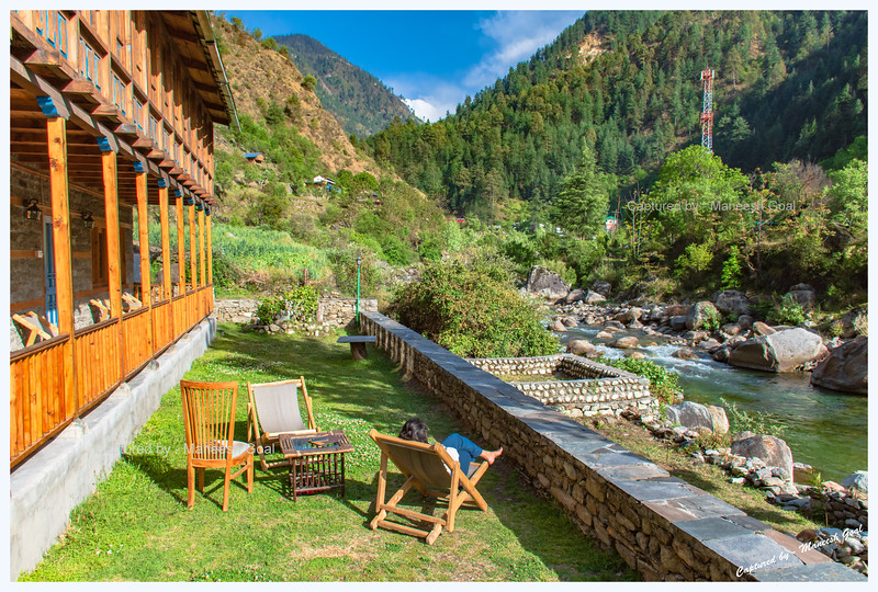 Bluehouse by the River - our abode in Tirthan Valley