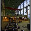 Steel weels<br /> Locomotive maintenance hall for the railway line of Sørvaranger Gruver (iron mine)