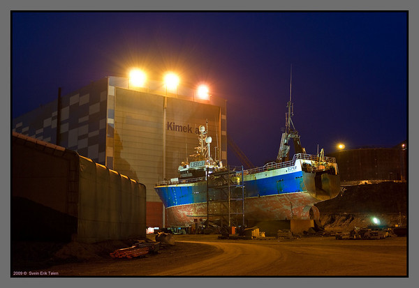 Kimek shipyard  Kirkenes