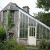 A greenhouse at Shapinsay Island in Scotland, United Kingdom.