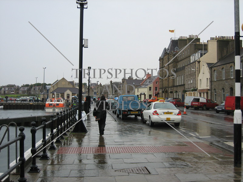 View at Kirkwall in Orkney Islands of Scotland, United Kingdom.