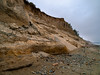 Eroding ledges at Dungeness Recreation Area (looking ~ south)