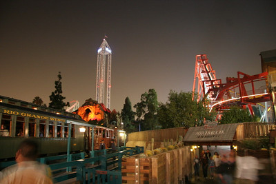 Pretty good shot of the park after dark